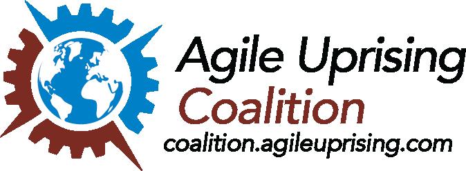 Agile Uprising text logo v1a
