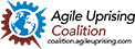 Agile Uprising text logo v1a small